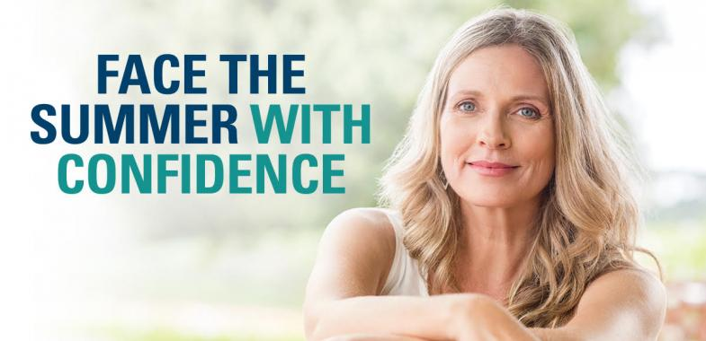 Face the summer with confidence